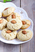 Almond biscuits — Stock Photo