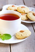 Almond biscuit  — Stock Photo
