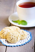 Rice flour cookies  — Stock Photo