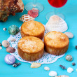 Coconut and pineapple cakes — Stock Photo #47215993