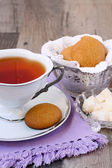 Ginger nuts, ginger biscuits, — Stock Photo