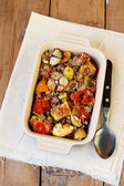 Baked ratatouille — Stock Photo