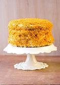 Pumpkin and orange cake  — Stockfoto