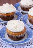 Kokos muffins — Stockfoto