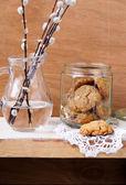 Müsli sušenky — Stock fotografie