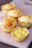 Savory mini pies  — Stock Photo