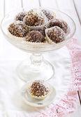 Homemade sweet balls  — Stok fotoğraf