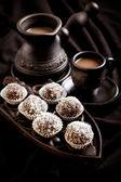 Homemade sweet balls  — Stock Photo