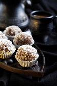 Homemade sweet ballse — Stock Photo