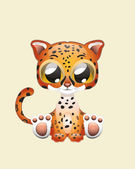 Cute Jaguar — Stock Vector