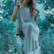 Nymph from a fairy tale — Stock Photo #51414075