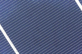 Solar cel panel close up, detail — Stock Photo