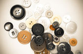 Old clothing buttons — Stok fotoğraf