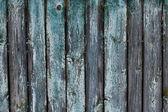Texture of dark horizontal wooden fence — Stock Photo