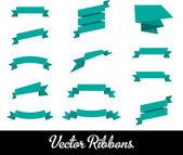 Ribbons vector — Stock Vector