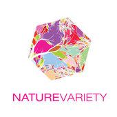 Nature variety logo — ストックベクタ