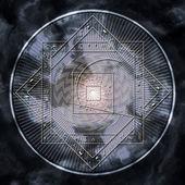 Astrological disc — Foto de Stock