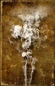 Yukarı duman — Stok fotoğraf