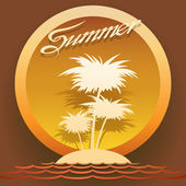 Summertime — Stock Vector