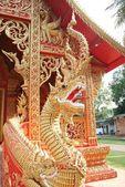 Drachenfigur gold — Foto Stock
