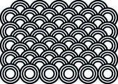 Muster Kreise — Stock Vector