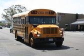 School Bus America — Stock Photo