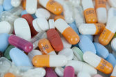 Colourful pills — Stock Photo