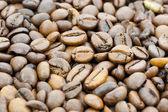 Kaffeebohnen Hintergrund — Stock Photo