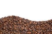 Rahmen aus Kaffeebohnen — Stock Photo