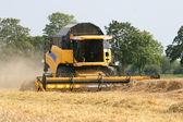 Wheat harvesting equipment - Combine Harvester — Stock Photo