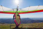 Hang glider — Stock Photo