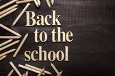 Back to the school — Stock Photo