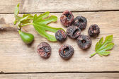 Black dried figs — Stock Photo