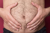 Big Belly — Stock Photo