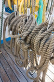 Elements of equipment of a yacht — Foto de Stock
