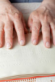 Braille language — Stock Photo