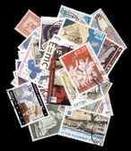 ギリシャの古い切手のコレクション. — ストック写真