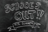 School's out — Stock Photo