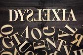 Dyslexia concept — Stock Photo