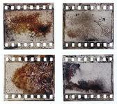 Grained film strip texture — Stock Photo