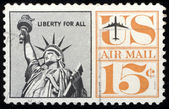 United States Stamps — Stock Photo
