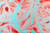 Marbled paper technique — Stock Photo