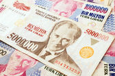 Valuta turca — Foto Stock