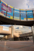 European Parliament in Brussels — Stock Photo