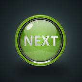 Next circular icon on white background — Stock Photo