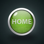 Home circular icon on white background — Stock Photo