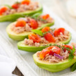 Avocado, tuna and tomato salad. — Stock Photo #50541261