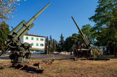 Antiaircraft guns — Stock fotografie