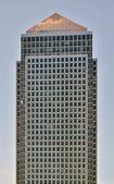 London. Canary Wharf. Isolated skyscraper.  — Stock Photo