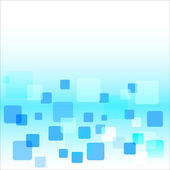Abstract light blue background with squares — Stock Vector
